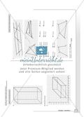 Geometrie - Hausaufgaben zu geometrischen Körpern mit Lösungen. Preview 7