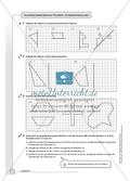 Geometrie - Hausaufgaben zu den Themen: Achsensymmetrie und Achsenspiegelung mit Lösungen. Preview 1