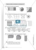 Hausaufgaben zur Darstellung von Brüchen mit Lösungen Preview 2