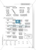 Hausaufgaben zur Darstellung von Brüchen mit Lösungen Preview 3