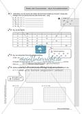 Hausaufgaben zum Berechnen von Termen und Lösen von Gleichungen mit Lösungen. Preview 10