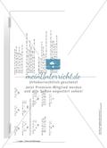 Hausaufgaben zum Berechnen von Termen und Lösen von Gleichungen mit Lösungen. Preview 11