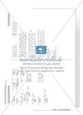 Hausaufgaben zum Berechnen von Termen und Lösen von Gleichungen mit Lösungen. Preview 14