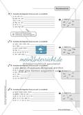 Hausaufgaben zum Berechnen von Termen und Lösen von Gleichungen mit Lösungen. Preview 2