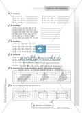 Hausaufgaben zum Berechnen von Termen und Lösen von Gleichungen mit Lösungen. Preview 8