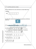 Schülerinnen und Schüler erarbeiten sich mit diesem Material Lerninhalte zum Thema Zahlraumerweiterung mit Aufgaben-, Tipp- und Lösungskarten selbstständig. Preview 3