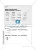 Schüler erarbeiten sich mit diesem Material Lerninhalte zum Thema Addition und Subtraktion mit Aufgaben-, Tipp- und Lösungskarten selbstständig. Preview 10