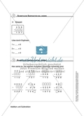 Schüler erarbeiten sich mit diesem Material Lerninhalte zum Thema Addition und Subtraktion mit Aufgaben-, Tipp- und Lösungskarten selbstständig. Preview 11