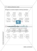 Schüler erarbeiten sich mit diesem Material Lerninhalte zum Thema Addition und Subtraktion mit Aufgaben-, Tipp- und Lösungskarten selbstständig. Preview 6