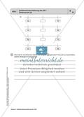 Aufgaben zu Zahlbereichserweiterungen mit einer Übersicht der mathematischen Kompetenzen und Anforderungsniveaus sowie der Lösungen. Preview 4
