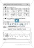Material für einen kompetenzorientierten Unterricht zum Thema Zahlen und Operationen mit Lösungen. Preview 11