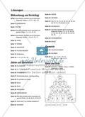 Selbstkontrollaufgaben zum Thema Zahlen und Operationen (Zählen und Ordnen) mit Lösungen. Preview 10
