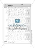 Selbstkontrollaufgaben zum Thema Zahlen und Operationen (Zählen und Ordnen) mit Lösungen. Preview 8