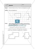 Selbstkontrollaufgaben zum Thema Geometrie mit Lösungen. Preview 3