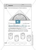 Selbstkontrollaufgaben zum Thema Geometrie mit Lösungen. Preview 4