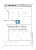 Selbstkontrollaufgaben zum Thema Geometrie mit Lösungen. Preview 6