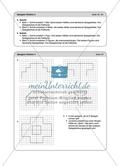 Material für eine Stationenarbeit zum Thema Spiegelungen mit einer Materialaufstellung, Hinweisen und Lösungen. Preview 14