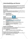 Material für eine Stationenarbeit zum Thema Spiegelungen mit einer Materialaufstellung, Hinweisen und Lösungen. Preview 1