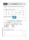 Material für eine Stationenarbeit zum Thema Spiegelungen mit einer Materialaufstellung, Hinweisen und Lösungen. Preview 3