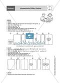 Material für eine Stationenarbeit zum Thema Spiegelungen mit einer Materialaufstellung, Hinweisen und Lösungen. Preview 4