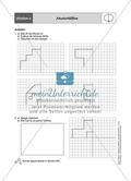 Material für eine Stationenarbeit zum Thema Spiegelungen mit einer Materialaufstellung, Hinweisen und Lösungen. Preview 8
