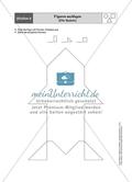 Aufgaben für eine Stationsarbeit zum Thema: Geometrische Formen mit einer Materialaufstellung, einem Laufzettel und den Lösungen. Preview 10