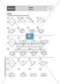 Aufgaben für eine Stationsarbeit zum Thema: Geometrische Formen mit einer Materialaufstellung, einem Laufzettel und den Lösungen. Preview 11