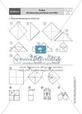 Aufgaben für eine Stationsarbeit zum Thema: Geometrische Formen mit einer Materialaufstellung, einem Laufzettel und den Lösungen. Preview 12