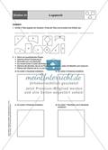 Aufgaben für eine Stationsarbeit zum Thema: Geometrische Formen mit einer Materialaufstellung, einem Laufzettel und den Lösungen. Preview 13