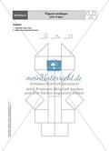 Aufgaben für eine Stationsarbeit zum Thema: Geometrische Formen mit einer Materialaufstellung, einem Laufzettel und den Lösungen. Preview 9