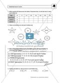 einfache Übungsaufgaben mit Hinweisen und Lösungen für die Schülerinnen und Schüler zum Thema: