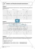 Aufgaben mit Lösungen rund um die Konstruktion von Vierecken als Grundlage für die ebene Geometrie. Preview 4