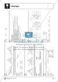 Aufgaben mit Lösungen rund um die Konstruktion von Vierecken als Grundlage für die ebene Geometrie. Preview 8