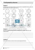 Mathematik, Geometrie, funktionaler Zusammenhang, Raum & Form, Analysis, Punktsymmetrie, Symmetrie, symmetrische Figuren, selbstgesteuertes lernen, lernerfolgskontrolle