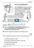 Mittelalter einfach und handlungsorientiert: Unterrichtseinheit Preview 2