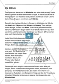Mittelalter einfach und handlungsorientiert: Unterrichtseinheit Preview 5