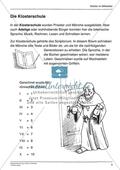 Kloster im Mittelalter: Unterrichtseinheit Preview 5