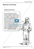 Burgen im Mittelalter: Unterrichtseinheit Preview 5