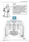 Menschen auf der mittelalterlichen Burg: Arbeitsmaterial mit Lösung Preview 4