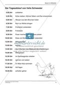 Tagesablauf im Mittelalter und heute: Arbeitsmaterial mit Lösung Preview 3