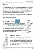 Kleidung im Mittelalter: Arbeitsmaterial mit Lösung Preview 1