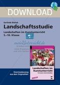 Landschaftsstudie - Landschaften im Kunstunterricht in der Sekundarstufe I: Ein Projekt. Preview 1