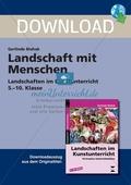 Landschaft mit Menschen - Landschaften im Kunstunterricht in der Sekundarstufe I: Ein Projekt. Preview 1