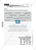 Stationenlernen: passé composé - Stationen 5-6: Aufgaben zur normalen Bildung und derer mit