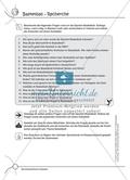 Aufgaben für Turnbeutelvergesser: Ein Quiz zum Thema Basketball vorbereiten und einen Lückentext ausfüllen. Mit Lösungen. Preview 1