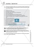 Aufgaben für Turnbeutelvergesser: Ein Quiz zum Thema Handball vorbereiten und einen Lückentext ausfüllen. Mit Lösungen. Preview 1