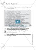 Aufgaben für Turnbeutelvergesser: Ein Turnquiz entwickeln und einen Lückentext zum Thema Turnen ergänzen. Mit Lösungen. Preview 1