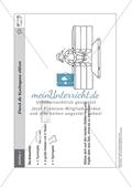 Sport an Stationen: Stützen und hängen an Reck und Co. (leicht - mittel). Mit Arbeitsblättern. Preview 1