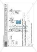 Sport an Stationen: Stützen und hängen an Reck und Co. (mittel - schwer). Mit Arbeitsblättern. Preview 2