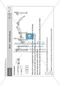 Sport an Stationen: Stützen und hängen an Reck und Co. (mittel - schwer). Mit Arbeitsblättern. Preview 4